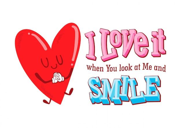 Valentine Quotes Cute Love Valentine Day Vector Premium Download