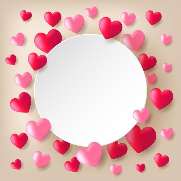 Valentines Day Wallpaper: Valentine's Background Design Vector