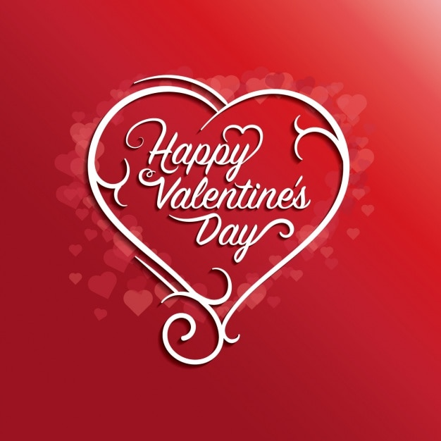 Valentineu0027s Background Design Free Vector