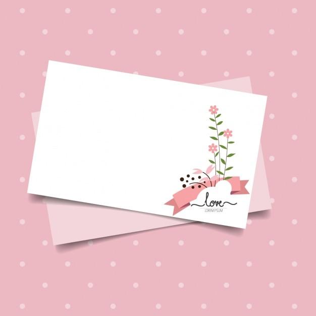 Valentines card design Vector – Valentine Card Download