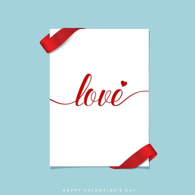 Valentine\'s card design
