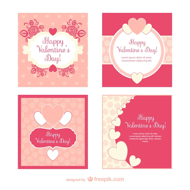 Valentine\'s Cards pack