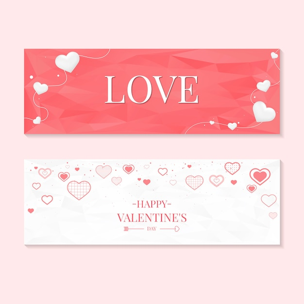Valentine's day icon illustration collection Free Vector