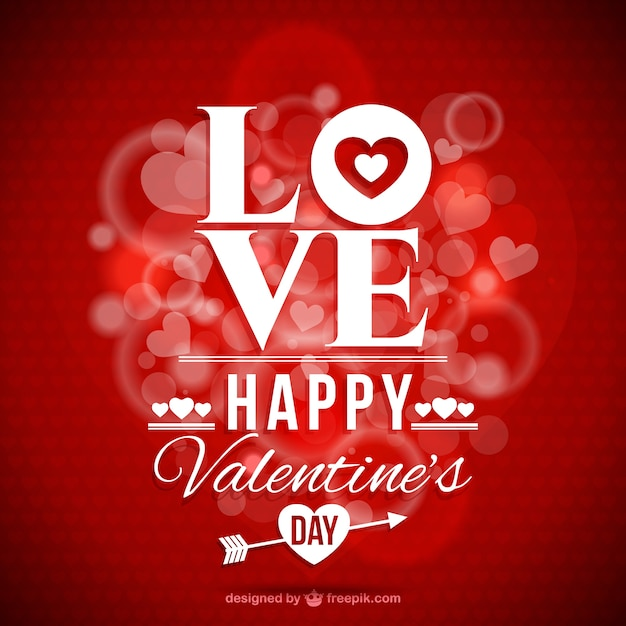 Valentine\'s Day romantic card
