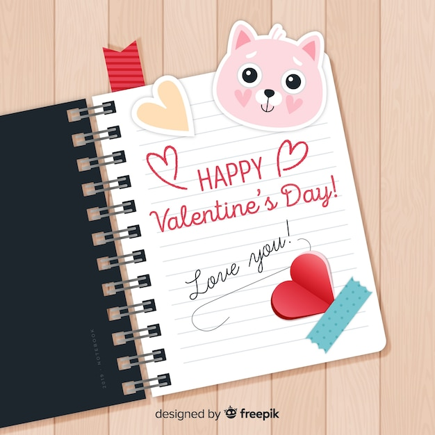 Valentine's day sale Free Vector