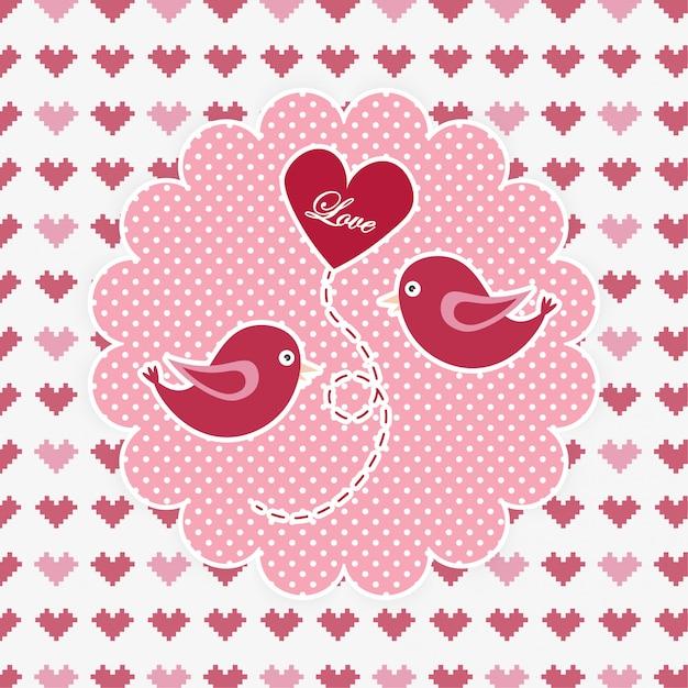 Valentine's day Premium Vector
