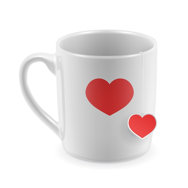 Valentine 39 S Mug Design Vector Free Download