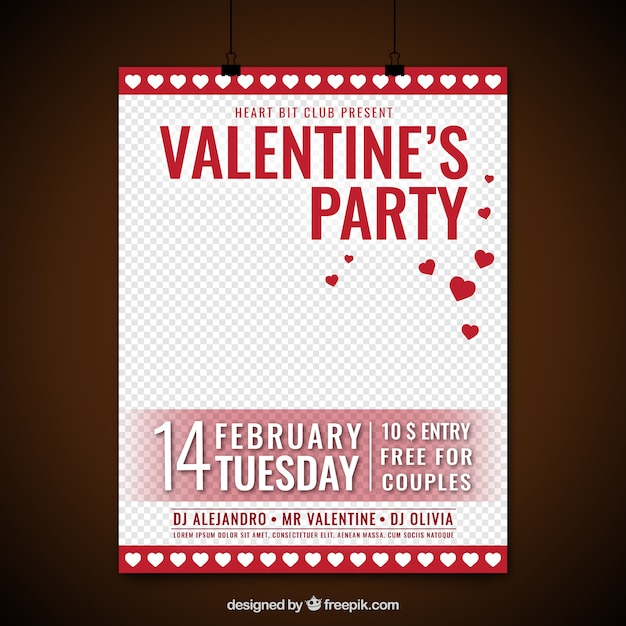 Valentines party poster with red gift boxes vector free download valentines party poster with red gift boxes free vector negle Choice Image