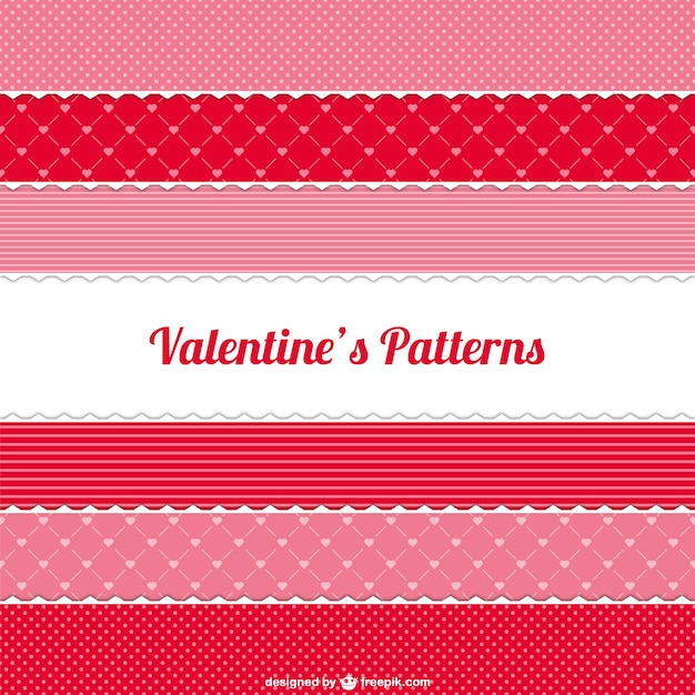 Valentine\'s patterns pack