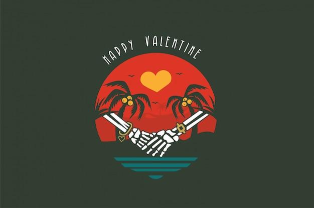 Valentine Premium Vector