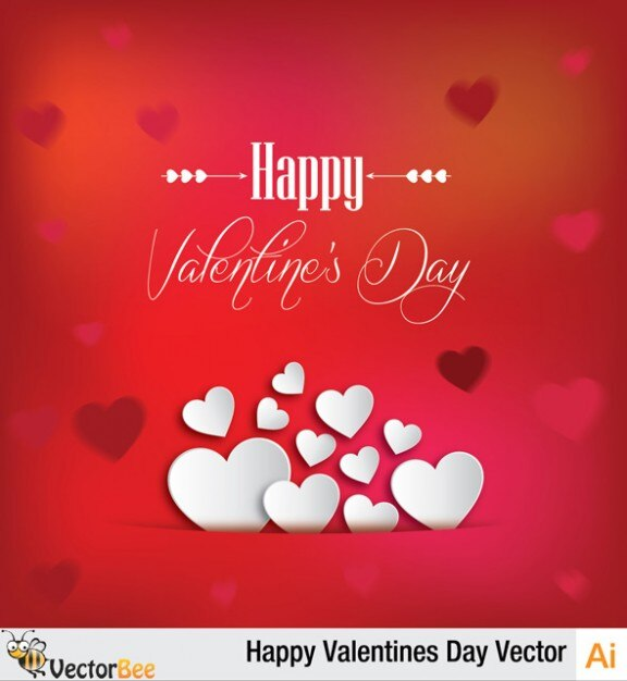 Valentines day greeting card design vector free download valentines day greeting card design free vector m4hsunfo