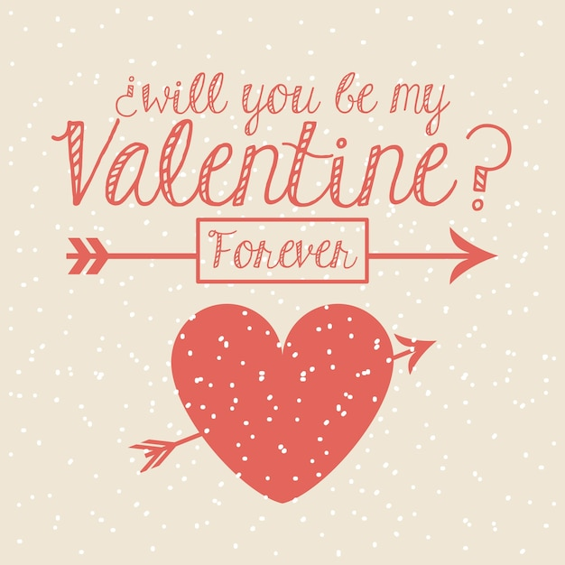 Valentines day Premium Vector