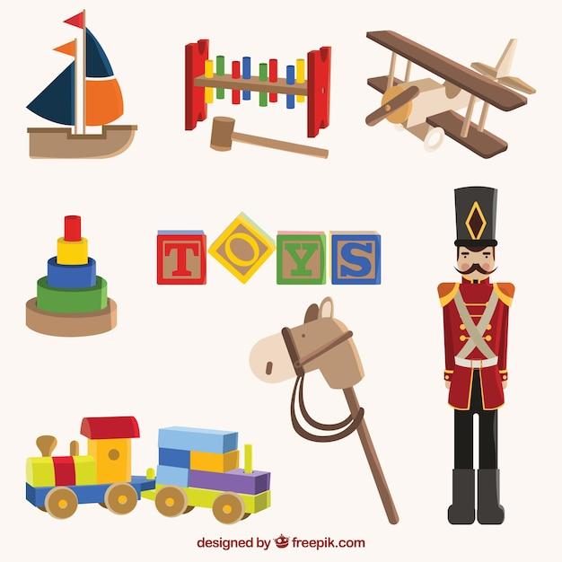 Vintage Wood Toys 121