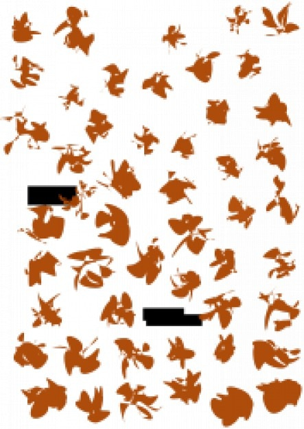 Various Cartoons and Faces