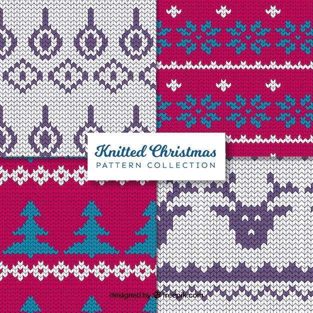 Various dot christmas patterns
