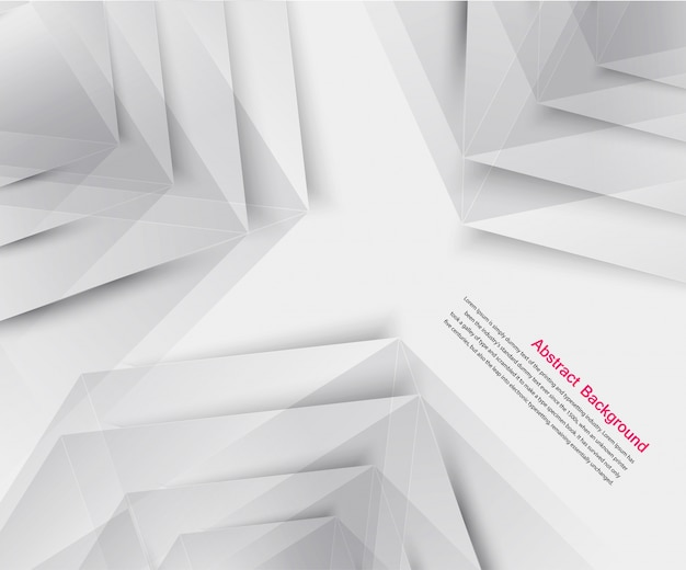 Vector abstract background. origami geometric Free Vector