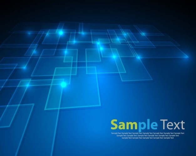vector abstract blue background Free Vector