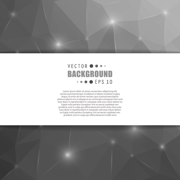 Vector abstract creative background. Premium Vector
