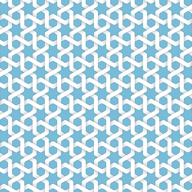 Vector abstract geometric islamic background. Based on