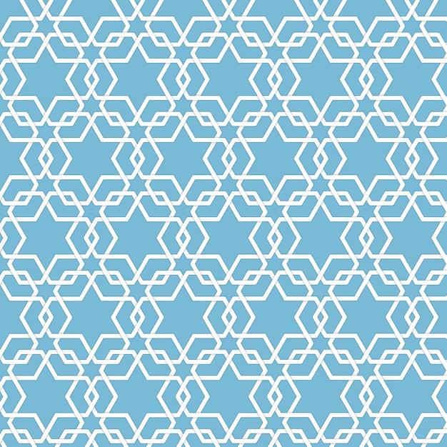 Вектор абстрактные геометрические исламский фон. на основе этнических мусульманских орнаментов. переплетенные бумажные полоски. элегантный фон для карточек, приглашений и т. д. Бесплатные векторы