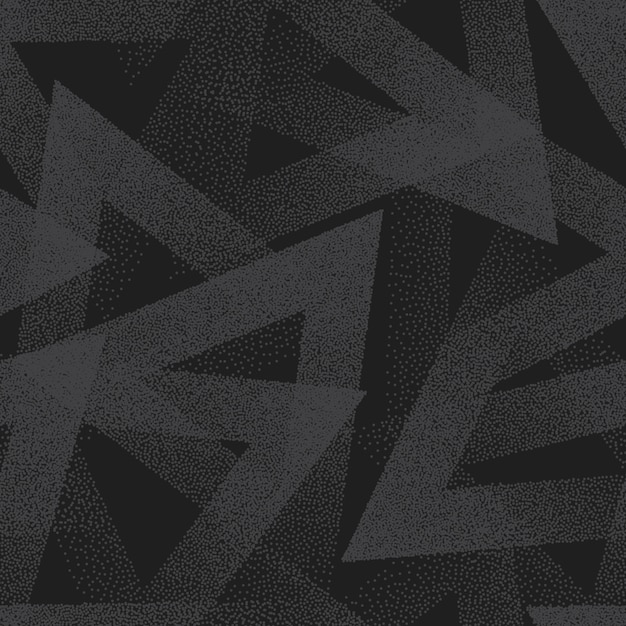 Vector abstract stippled seamless pattern Premium Vector