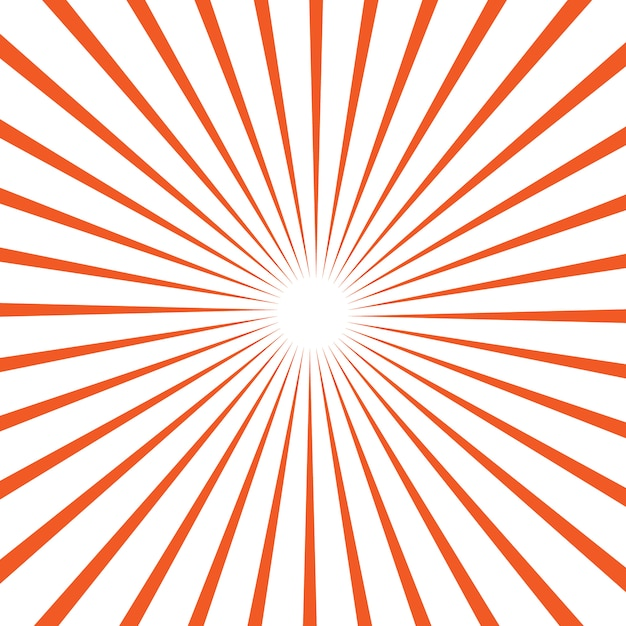 Vector background  with sun rays Premium Vector