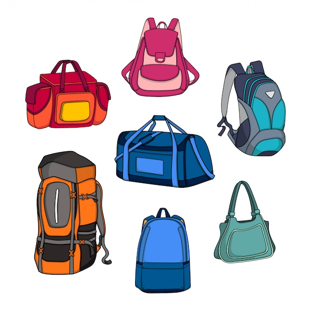 Vector bag design illustration Premium Vector