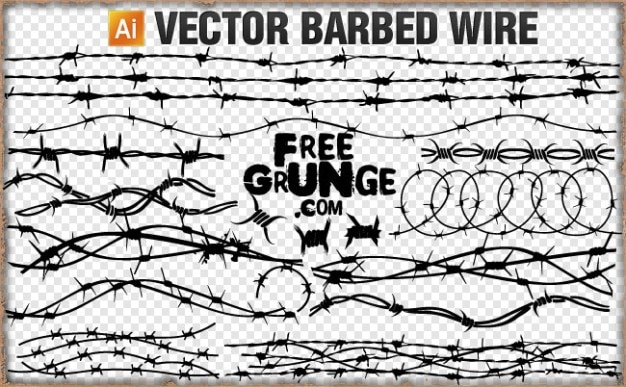 vector barbed wire vector free download rh freepik com barbed wire vector circle barbed wire vector circle