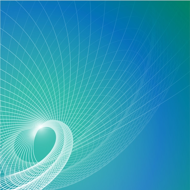 Vector blue contemporary background Free Vector