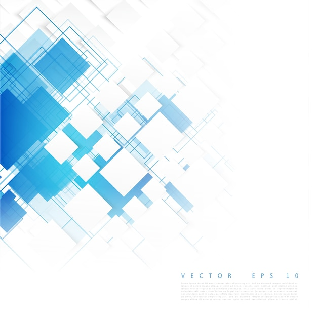 Vector blue squares. Abstract\ background.