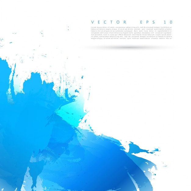 Vector Bright watercolor stains.