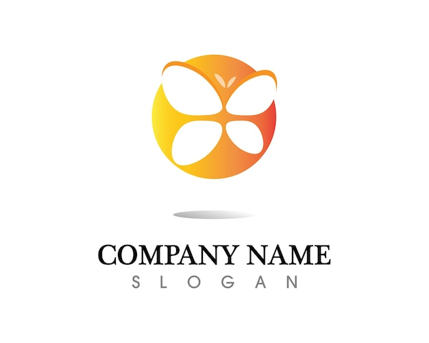 Vector - butterfly conceptual simple, colorful icon. logo. vector illustration Premium Vector