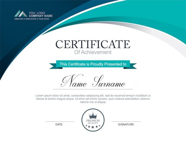 Vector certificate template Vector | Premium Download