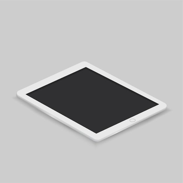 Vector of digital tablet icon Free Vector