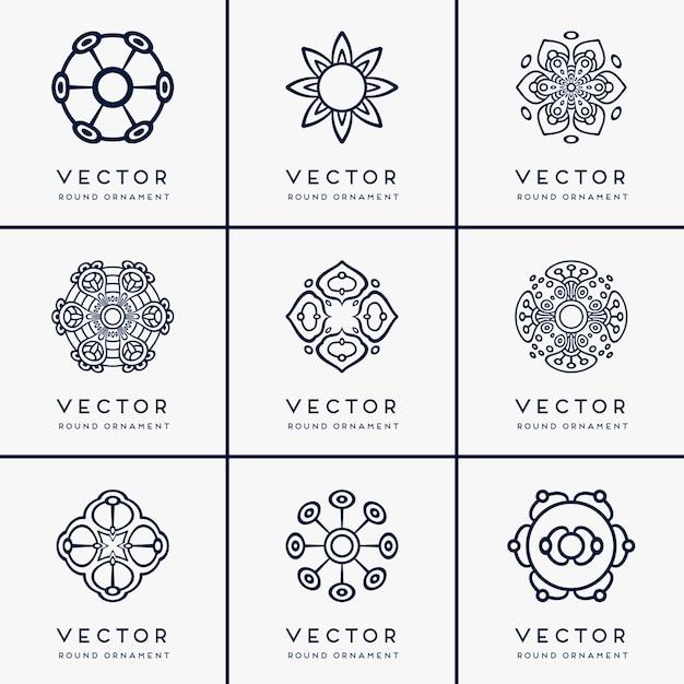 Vector ethnic mandala Free Vector