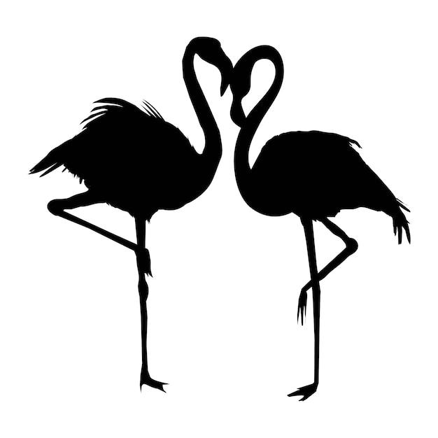 Vector file of flamingo Premium Vector