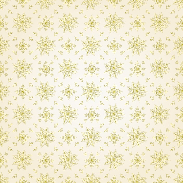 Vector flower seamless pattern background.\ Elegant texture for backgrounds. Classical luxury old fashioned\ floral ornament, seamless texture for wallpapers, textile,\ wrapping.
