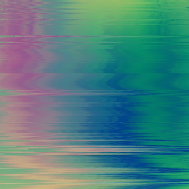 Vector glitch background. digital image data distortion. colorful abstract background for your designs. chaos aesthetics of signal error. digital decay. Free Vector