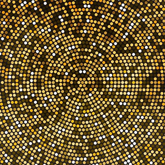 Vector gold disco lights background Premium Vector