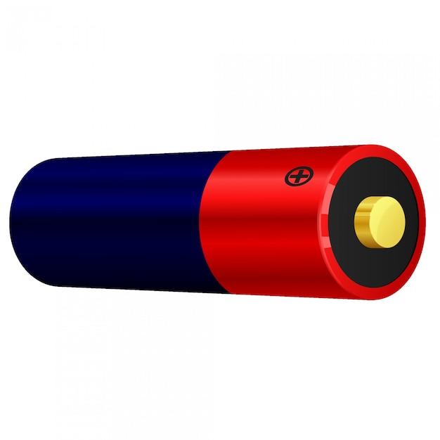 Vector illustration of battery Premium Vector