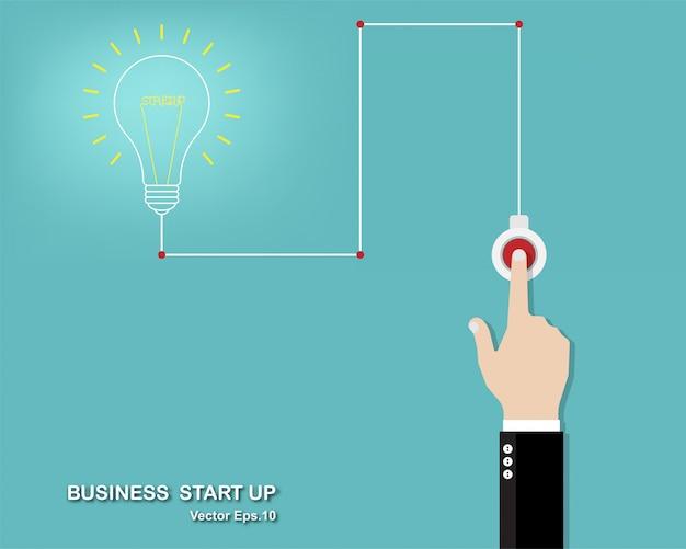 Vector illustration of creative idea Premium Vector