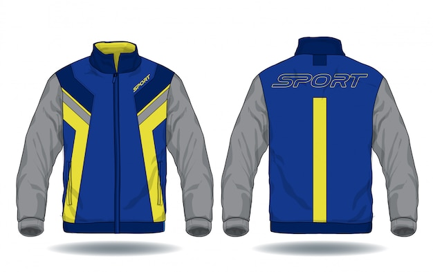 Vector illustration of sport jacket Premium Vector