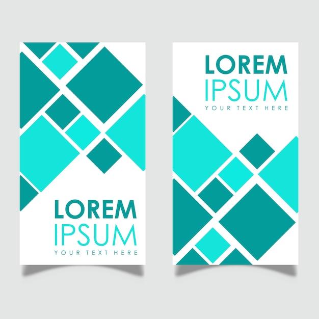 Vector Leaflet Banner Designs Free Vector