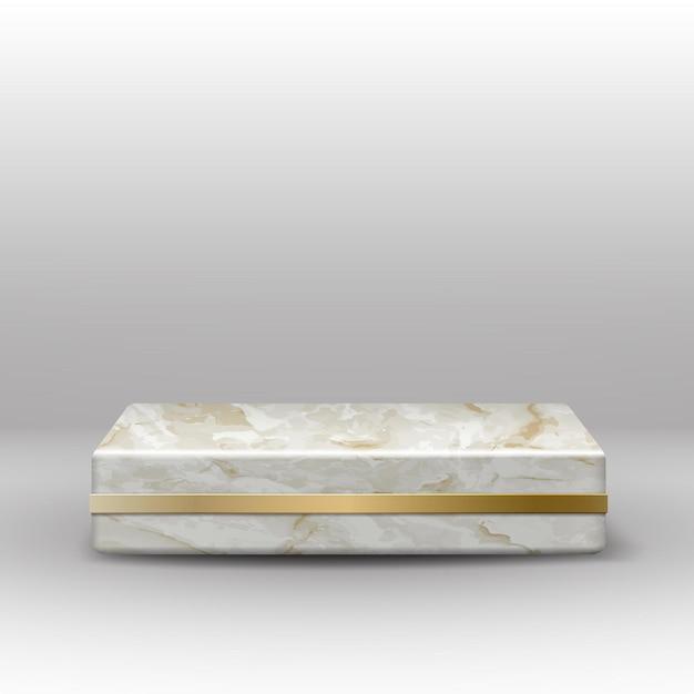 회색에 황금 장식 벡터 대리석 질감 광장 무대 무료 벡터