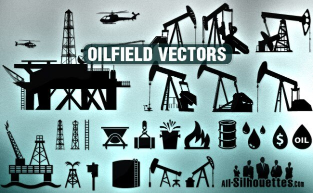 vector oilfield clipart all silhouettes vector free download rh freepik com Oilfield Graphics Oilfield Vector