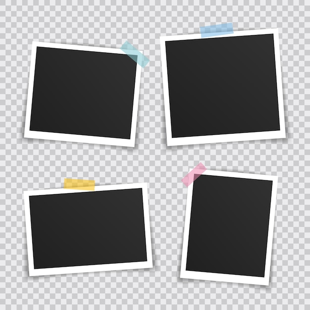 Vector photo frame Premium Vector