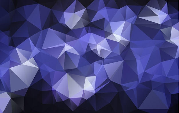 Vector polygon abstract geometric background. Premium Vector