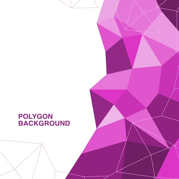 vector polygon design vector free download