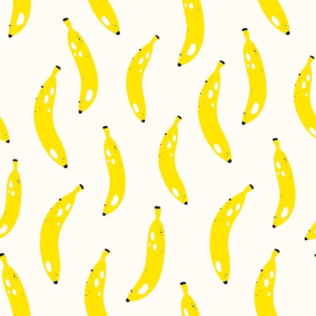 Vector seamless fruit pattern Premium Vector