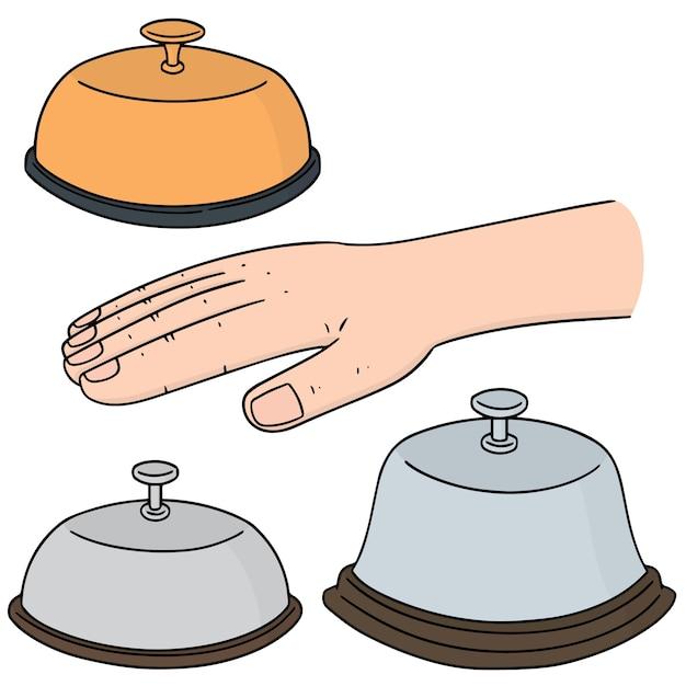 Vector set of bell Premium Vector